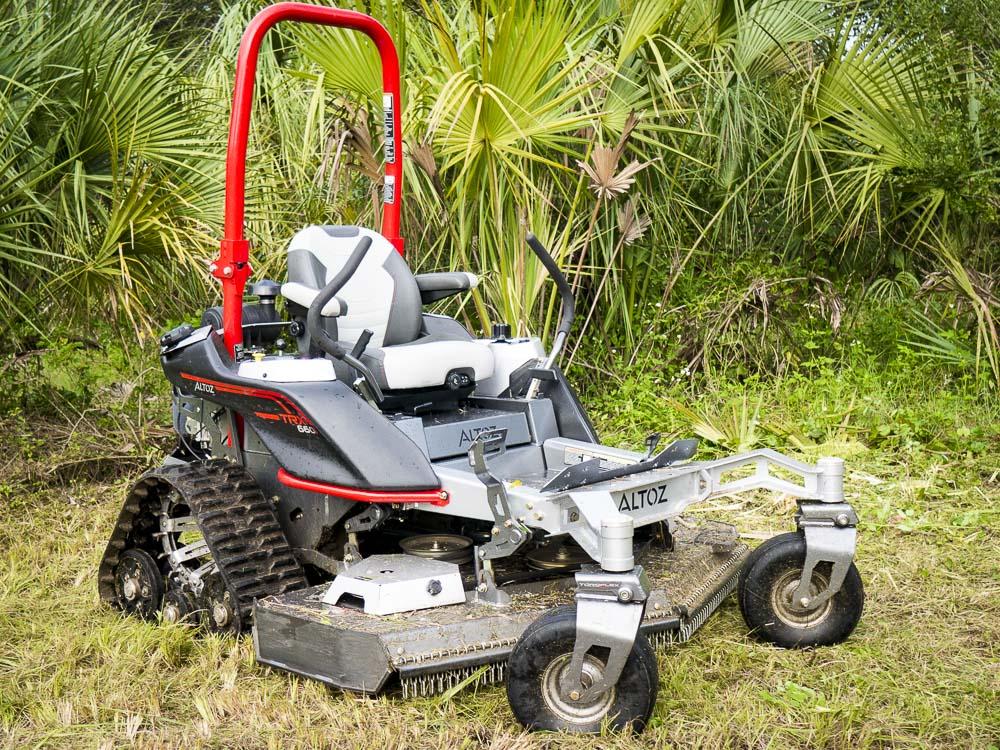 Altoz TRX 660i Zero Turn Mower Review - Tank Turret Not